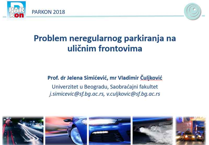 Parkon konferencija - Jesen 2018, Beograd - Tema 1